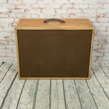 Home-Built V30/Creamback Guitar 2x12 Amp Cab x2118 (USED)
