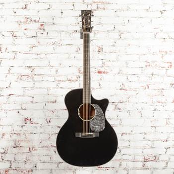 Martin Custom Shop GP Style 14-Fret Acoustic Electric Guitar Black x8557