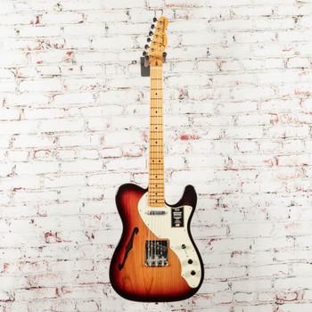 Fender American Original 60s Telecaster® Thinline Electric Guitar, Maple Fingerboard, 3 Color Sunburst x8507