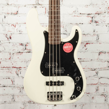 Squier Affinity Series Precision Bass PJ Olympic White x1657