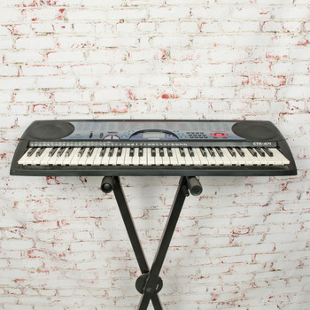 Casio CTK-471 Digital Keyboard w/MIDI x8759 (USED)