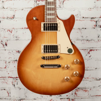 Gibson Les Paul Tribute Electric Guitar Satin Honey Burst x0159