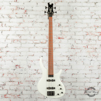 Epiphone Toby Standard-IV Electric Bass, Alpine White Finish x3001