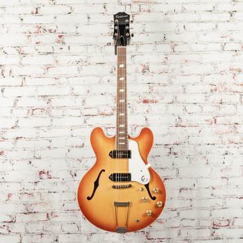 Epiphone USA Collection Casino Hollowbody Electric Guitar Royal Tan x0078