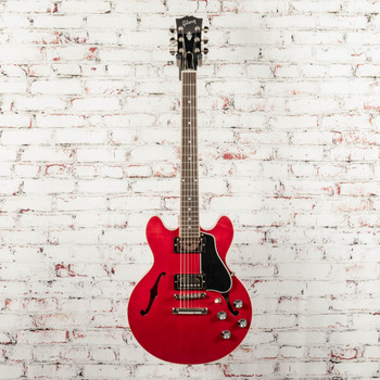 Gibson ES-339 Hollow Body Electric Guitar Cherry x0316