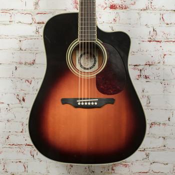 Alvarez Artist Series AD60 Dreadnought Acoustic Guitar Sunburst x1826 (USED)