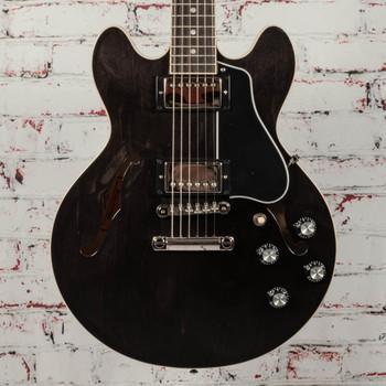 Gibson ES-339 Semi-Hollow Body Guitar - Trans Ebony x0046