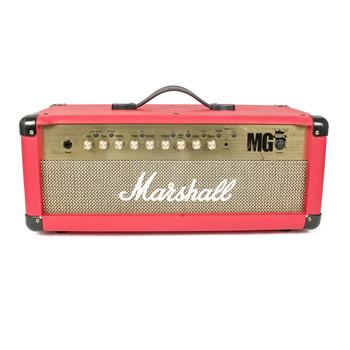 Marshall MG4 Series MG100HFX 100W Guitar Amp Head Red x484U (USED)