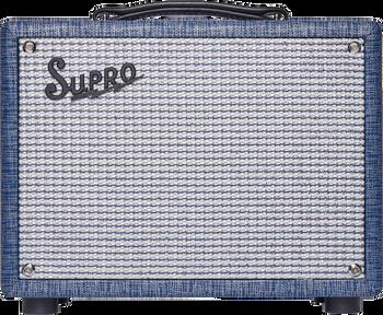 Supro '64 Reverb 5 Watt 1x8 Combo Amplifier - Blue Rhino