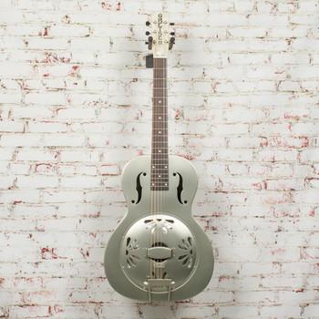 Gretsch G9201 Honey Dipper Round-Neck, Brass Body Biscuit Cone Resonator Guitar x2113