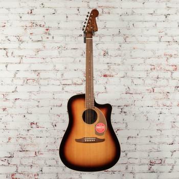 Fender Redondo Player Acoustic/Electric Guitar Sunburst x6715