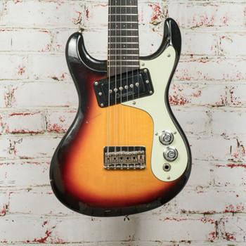 Mosrite Mini Octave Guitar 6-String Sunburst x0846 (USED)