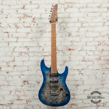 Ibanez Premium AZ226PB Electric Guitar Cerulean Blue Burst x1458 (USED)