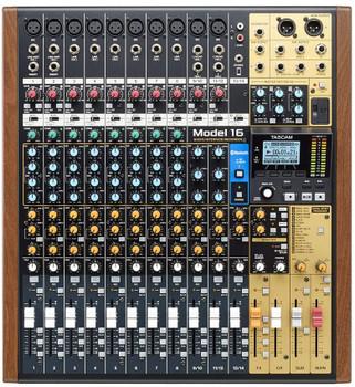 Tascam Model 16 Mixer - All-in One Studio