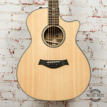 Taylor 814ce Limited Edition 2020 NAMM Bocote/Lutz Acoustic/Electric Guitar Natural x0114 (USED)