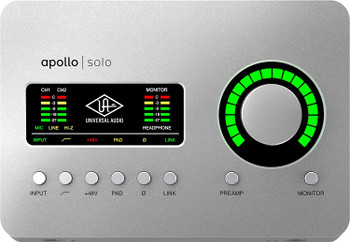 Universal Audio Apollo Solo - Heritage Edition - Thunderbolt 3