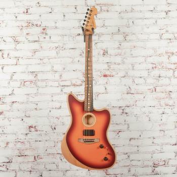 Fender American Acoustasonic Jazzmaster Tobacco Sunburst x771a