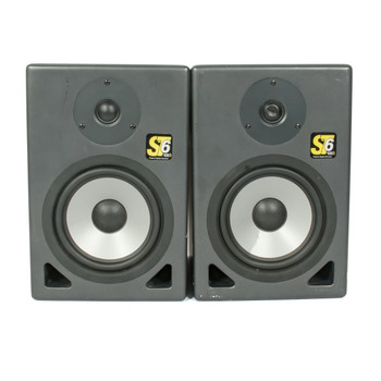 KRK St6 Passive Studio Monitor Pair (USED) x7654