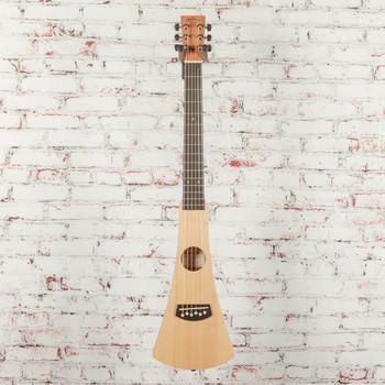Martin Backpacker Travel Steel String Acoustic Guitar Natural x5218