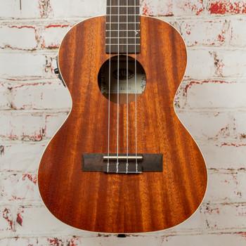 Kala KA-TE Acoustic/Electric Tenor Ukulele Natural Exotic Mahogany x2780