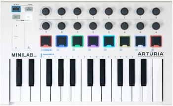 Arturia Minilab MKII MIDI Controller - White