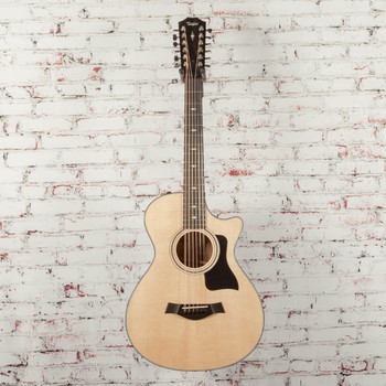 Taylor 352ce V-Class 12-Fret Grand Concert 12-String Acoustic Electric Guitar Natural x1140