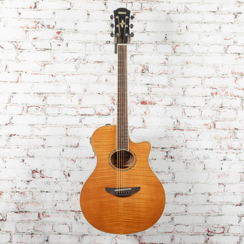 Yamaha APX600FM-AM Acoustic/Electric Guitar Flamed Maple Natural x7514