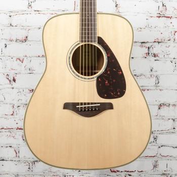 Yamaha FG830 Acoustic Guitar Natural x0618