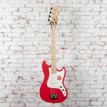 Squier Affinity Series Bronco Bass Torino Red x8532