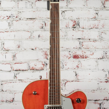 Gretsch G5420T Electromatic Hollowbody Single-Cut Electric Guitar with Bigsby Orange Stain x3498