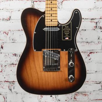 Fender Ultra Luxe Telecaster® Electric Guitar, Maple Fingerboard, 2-Color Sunburst x2479