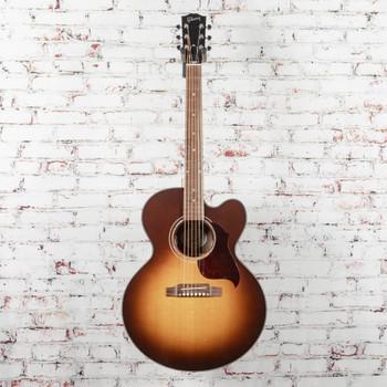 Gibson J-185 EC Acoustic/Electric Guitar Modern Walnut Burst x1070