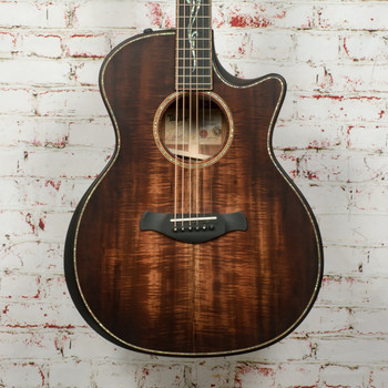 Taylor Builder's Edition K24ce Acoustic Electric Guitar Shaded Edgeburst x1182