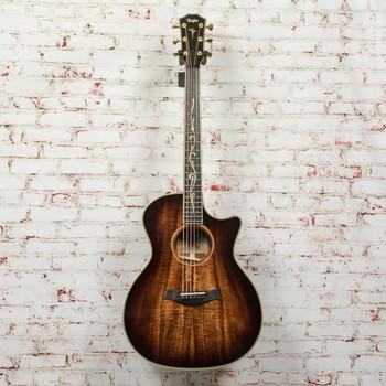 Taylor K24ce V-Class Grand Auditorium Acoustic-Electric Guitar Shaded Edge Burst x1084