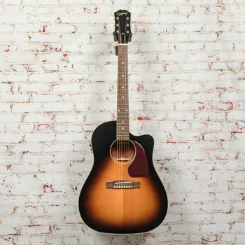 Epiphone Inspired By Gibson J-45 EC Aged Vintage Sunburst Gloss Acoustic Guitar x6659