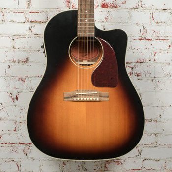 Epiphone Inspired By Gibson J-45 EC Aged Vintage Sunburst Gloss Acoustic Guitar x6650