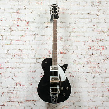 2020 Gretsch G6128T Players Edition Jet™ FT with Bigsby® Electric Guitar, Rosewood Fingerboard, Black x1081 (USED)