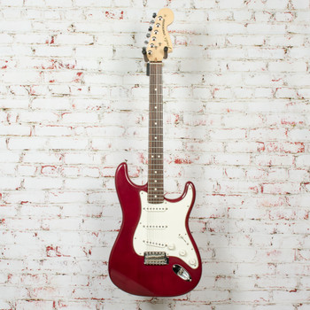 2006 Fender Highway One™ Stratocaster® Electric Guitar, Rosewood Fingerboard, Midnight Wine x7985 (USED)