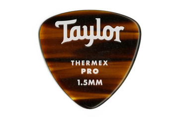 Taylor Premium 351 Therm Pro Picks, Shell, 1.50mm 6-Pack