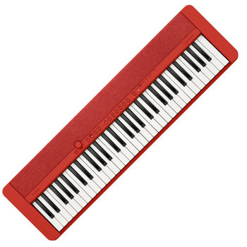 Casio CT-S1 61-Key Portable Keyboard, Red