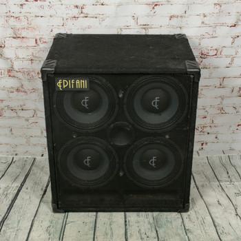 Epifani T-410 Bass Guitar 4x10 Speaker Cabinet x1858 (USED)