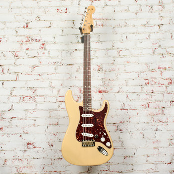 Parts Strat Electric Guitar Blonde with Fender Special Edition Neck, Ash Body w/Seymour Duncan Pickups x2318 (USED)