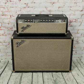 1966 Fender Tremolux Tube Head w/ Matching 2x10 Cabinet x7537 (USED)
