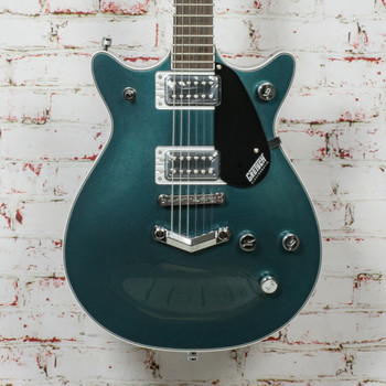 Gretsch G5222 Electromatic® Double Jet™ BT with V-Stoptail Electric Guitar, Laurel Fingerboard, Jade Grey Metallic x0528