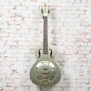 Gretsch G9201 Honey Dipper Round-Neck, Brass Body Biscuit Cone Resonator Guitar x2279