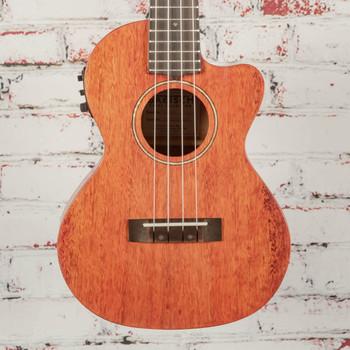 Gretsch G9121 Tenor Ace Acoustic/Electric Ukulele Honey Mahogany Stain x1083