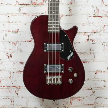 Gretsch G2220 Electromatic® Junior Jet™ Bass II Short-Scale, Black Walnut Fingerboard, Walnut Stain x0088