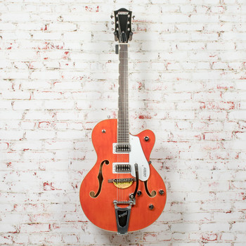 Gretsch G5420T Electromatic Hollowbody Single-Cut Electric Guitar with Bigsby Orange Stain x3104