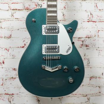 Gretsch G5220 Electromatic® Jet™ BT Single-Cut with V-Stoptail Electric Guitar, Black Walnut Fingerboard, Jade Grey Metallic x0015