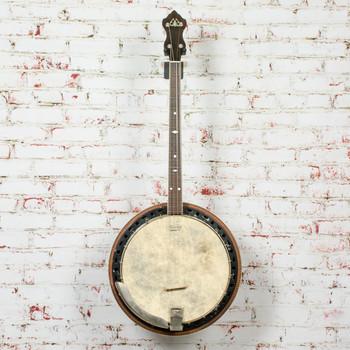 1920/30s Stromberg 19 Fret Tenor Banjo w/ Checkerboard Binding x2953 (USED)